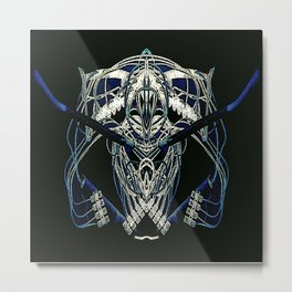 REPLIQUANT Metal Print