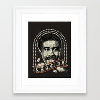 cocaine Framed Art Prints featuring Cocaine by Geekleetist