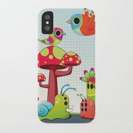 Critter Romance iPhone Case
