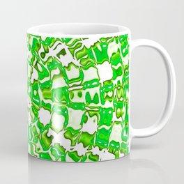 Circular Mosaic Green Coffee Mug