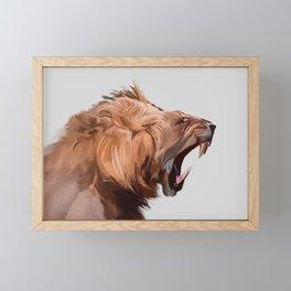 Ferocity Framed Mini Art Print