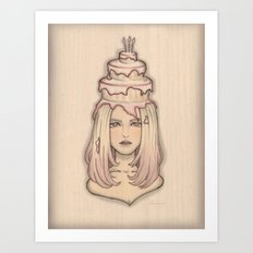 SweetsII Art Print