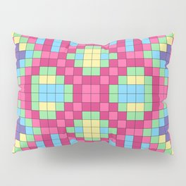 Checkerboard Squares Abstract Pillow Sham