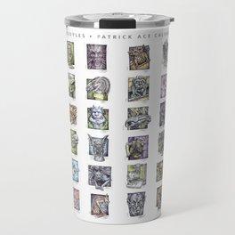 Gargoyle Compilation Print Travel Mug