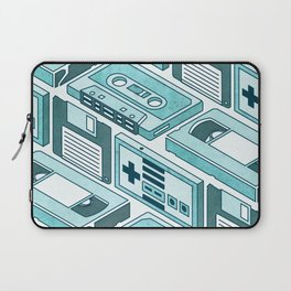 90's pattern-blue Laptop Sleeve