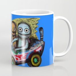 A trip by car Coffee Mug