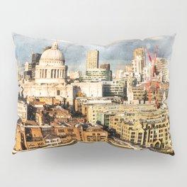 London, England Pillow Sham