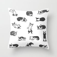 Sleeping Boogie Throw Pillow