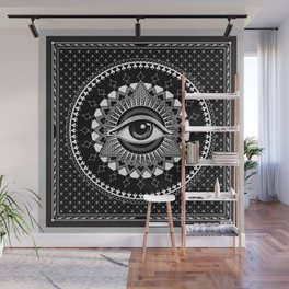 The Eye of Providence Wall Mural