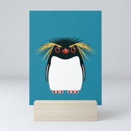Rockhopper Penguin Mini Art Print