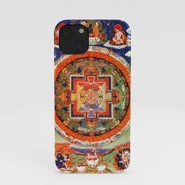 Mandala Buddhist 1 iPhone Case