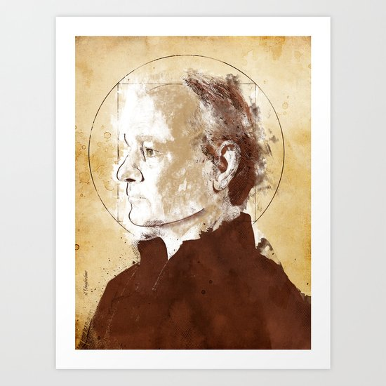 Bill Murray (Guglielmo) Art Print
