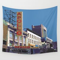 apollo Wall Tapestries featuring The Apollo by designed to a T