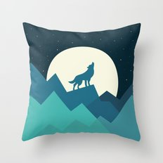 Keep The Wild In You Throw Pillow