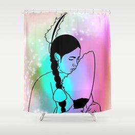 Spirit Dancer Shower Curtain
