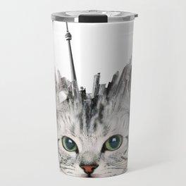 Toronto Kittyscape Travel Mug