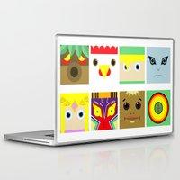 zelda Laptop & iPad Skins featuring ZELDA GAME by pipocaVFX