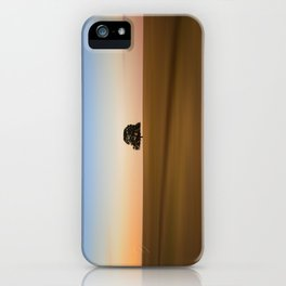 Focus on one thing at a time isolated oak tree iPhone Case