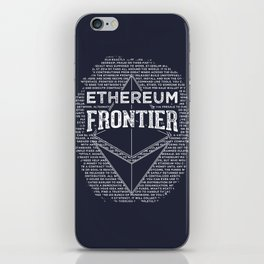 Ethereum Frontier iPhone Skin