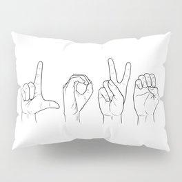 L-O-V-E Pillow Sham