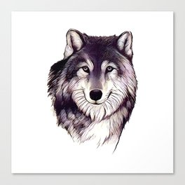 Wolfe Smile Canvas Print