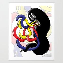 Gross Ghost Prime Art Print
