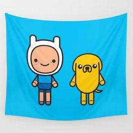 #48 Jake and Finn Wall Tapestry