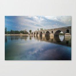 Meric Bridge Canvas Print