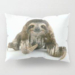 Arctic Sloth Pillow Sham