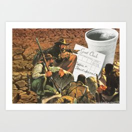 Who's Going To Pay This Time ? Art Print
