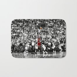 MichaelJordan Iconic Basketball Sports Bath Mat