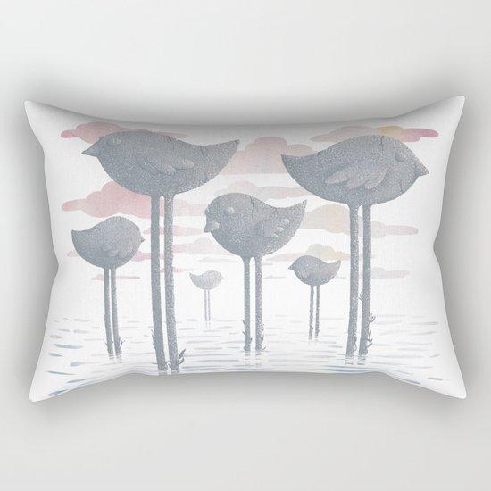 The Remnants Rectangular Pillow