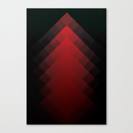 The Mountains of Mars Canvas Print