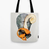 greek Tote Bags featuring Greek Bust by Heart of Hearts Designs