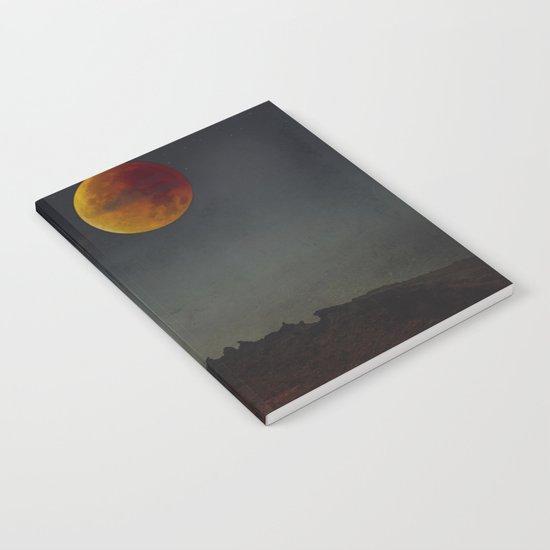 Blood Moon Rising Notebook