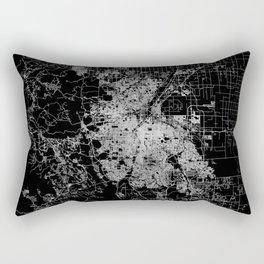 Denver map Rectangular Pillow
