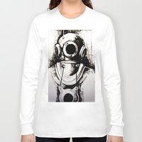 "diver Long Sleeve T-shirts featuring ""Diver"" by Scott Lenaway"