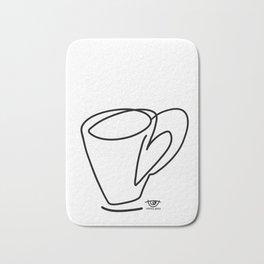 Cuppa Candor [Ivory] Bath Mat