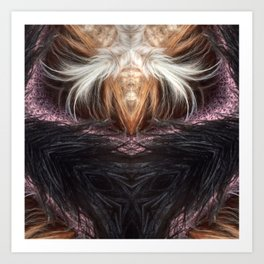 The Black Witch Is Back! Art Print