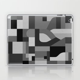 Langley Tex Black and White Laptop & iPad Skin