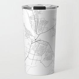 Minimal City Maps - Map Of Borisov, Belarus. Travel Mug