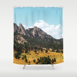 Flatirons Shower Curtain