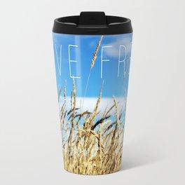 Live Free Travel Mug