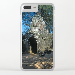 Angkor wat, Ta som temple Clear iPhone Case