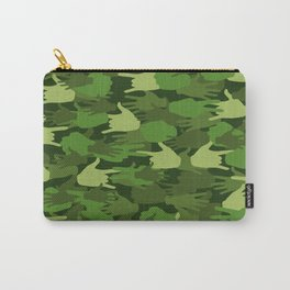 Handy Camo GREEN Carry-All Pouch