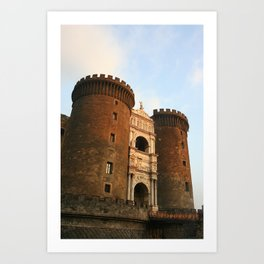 Naples Castle Art Print