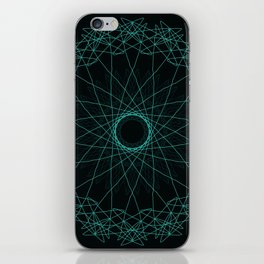 Geometric Freedom iPhone Skin