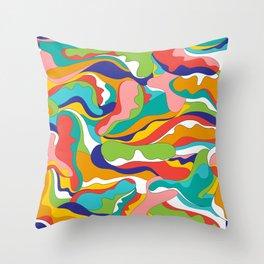 Hippie Vibes / Summer Morning Throw Pillow