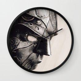 Steampunk Mask Handmade by Diarment Wall Clock