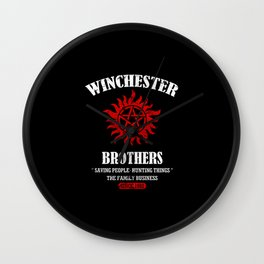 Winchester Brothers Wall Clock